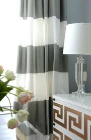 Grey White Striped Curtains Grey And White Curtains Ezpass Club
