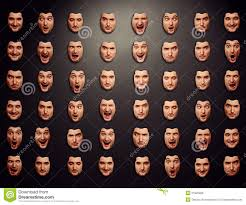wall masks wall with different emotional masks stock photo image 31925000