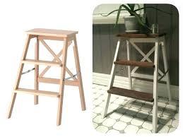 ikea step stool rroom me ikea step stool wood step stool 3 step ladder hack white paint and
