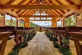 wedding venues in gatlinburg tn skyview pavilion parkside resort