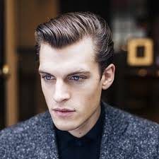 receding hair slicked back 30 best thinning hair hairstyles for men 2017
