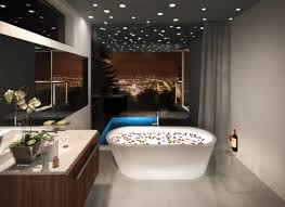 unique modern bathroom lighting what should be done while