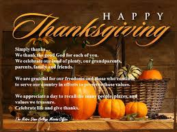 notre dame college shares a prayer for thanksgiving notre dame
