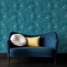 papier peint cuisine 4 murs les 25 meilleures idées de la catégorie mur bleu canard sur