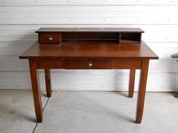 Solid Wood Office Desks Furniture Rustic Solid Wood Desk Design Best Way Of Applying