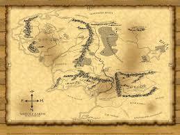 Lord Of The Rings Map Lord Of The Rings By Lordoftherings Walls On Deviantart