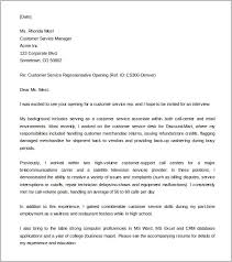 exle customer service cover letter customer care executive cover letter 81 images customer