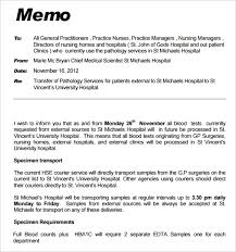business memo format sample interoffice memo free