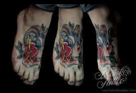 9 amazing aries tattoos on foot