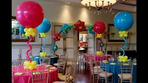Centerpieces For Birthday by Creative Balloon Decorations For Birthday Decorating Of Party