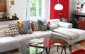 gros coussin de canapé canape avec coussin canapac en tissu 3 places avec coussins garnis