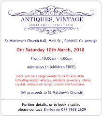 northern ireland antique fairs