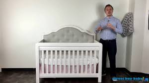 Convertible Cribs Canada by Pali Cristallo Convertible Crib Collection Youtube