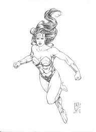 coloring pages of wonder woman wonder woman clipart colouring page clipartfest coloring home