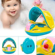 siege gonflable bébé itian bateau gonflable bébé flotteur anneau de natation voiture