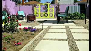 my concrete backyard makeover beautiful patio before and after