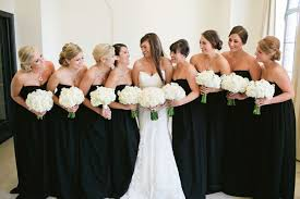black and white wedding bridesmaid dresses black bridesmaid gowns with personality style joanne s