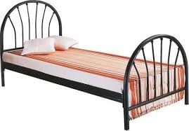 Iron Single Bed Frame Iron Black Ms Wrought Iron Single Bed Rs 4500 Rolex