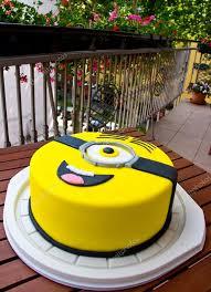 minion birthday cake minion birthday cake stock editorial photo bertys30 76064311