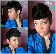 hype hair styles for black women 8 best 27 piece images on pinterest short haircuts short