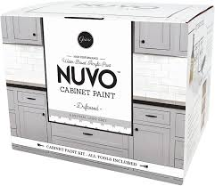 can you spray nuvo cabinet paint nuvo driftwood 1 day cabinet makeover kit