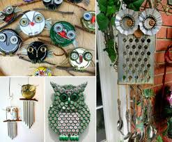 Diy Garden Art Diy Recycled Owl Art Pictures Photos And Images For Facebook