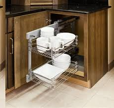 Blind Corner Storage Systems Fancy Design Blind Corner Cabinet Pull Out Amazing How To Build