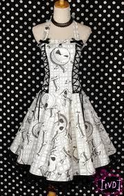 nightmare before heads corset halter dress diy
