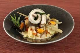 recettes cuisine vapeur recette de coeur de daurade à la vapeur d estragon jus de moule