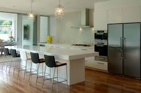 Wall Hung Kitchen Cabinets Kitchen Room 2017 White Ceramics Floor White And Brown Wall