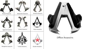 Assassins Creed Memes - office assassin assassin s creed logo know your meme
