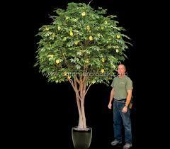 artificial fruit trees lemon tree commercial silk int l