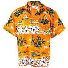 mens hawaiian aloha shirt wholesale sublimation printing casual