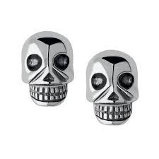 skull stud earrings links of london sterling silver mini skull stud earrings 5040 2308