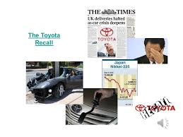 toyota car recall crisis stages of crisis crisis management ppt