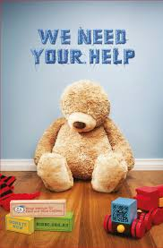 Blind Charity Blind Teddies Feature In Charity Poster Campaign Mumbrella