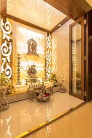 design of pooja room within a house a house brown doors and houses