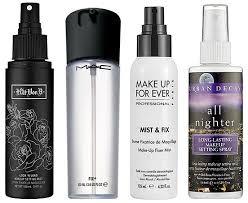 makeup fixing spray