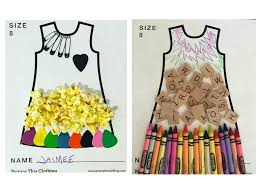 picture this makes girls u0027 dresses from their very own artwork