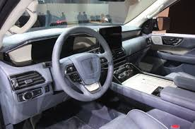 lincoln navigator interior 2016 updated 2018 lincoln navigator brings big power tech to