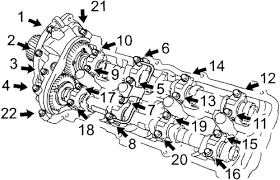 toyota tundra hp and torque repair guides engine mechanical components camshaft bearings
