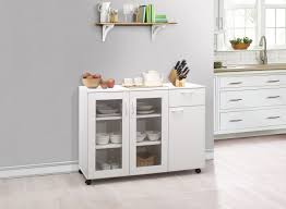 gremlin wheeled kitchen storage sideboard buffet cabinet white wood gremlin wheeled kitchen storage sideboard buffet cabinet white wood walmart