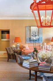 ross meltzer and victor figueredo add pops of orange throughout