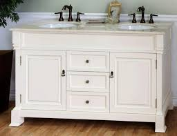60 inch double sink bathroom vanity in cream white awesome 60