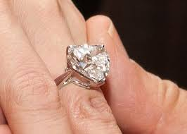 Heart Shaped Wedding Rings by Celebrity Heart Shaped Engagement Rings Ritani