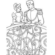 25 free printable cinderella coloring pages