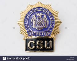 csu ny detective police badge stock photo royalty free image