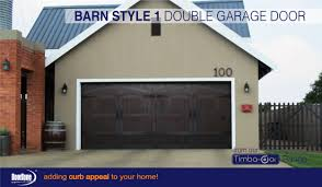 timba dor barn style 1 double sectional overhead garage door