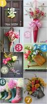 best 25 spring decorations ideas on pinterest diy summer flower 36 creative front door decor ideas not a wreath