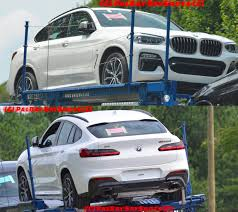 2018 x3 g01 u s 2018 bmw x4 spotted undisguised m40d confirmed performancedrive